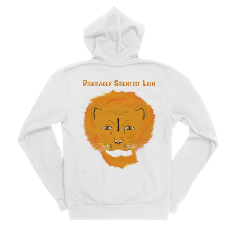 Disgraced Scientist Lion Men's Zip-Up Hoody by Every Drop's An Idea's Artist Shop