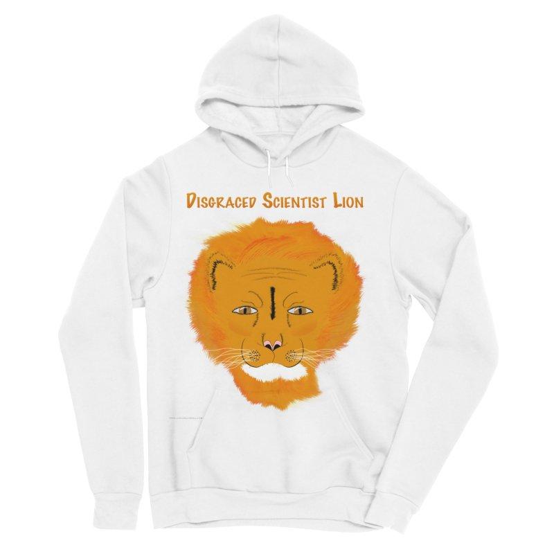 Disgraced Scientist Lion Women's Sponge Fleece Pullover Hoody by Every Drop's An Idea's Artist Shop