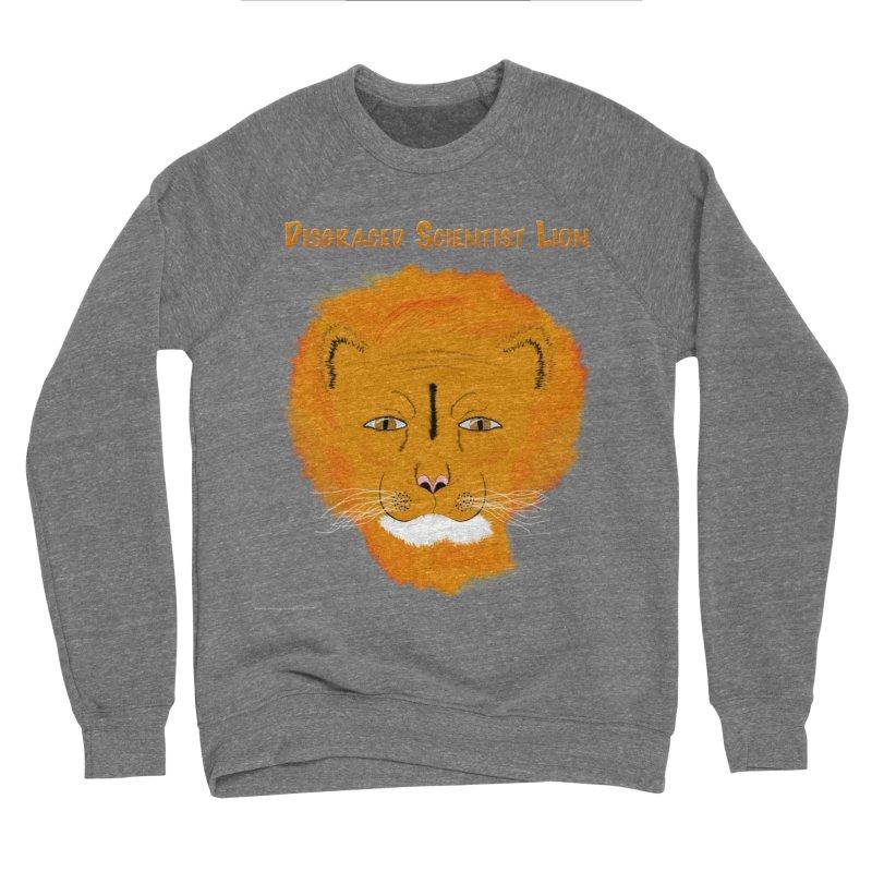 Disgraced Scientist Lion Men's Sponge Fleece Sweatshirt by Every Drop's An Idea's Artist Shop