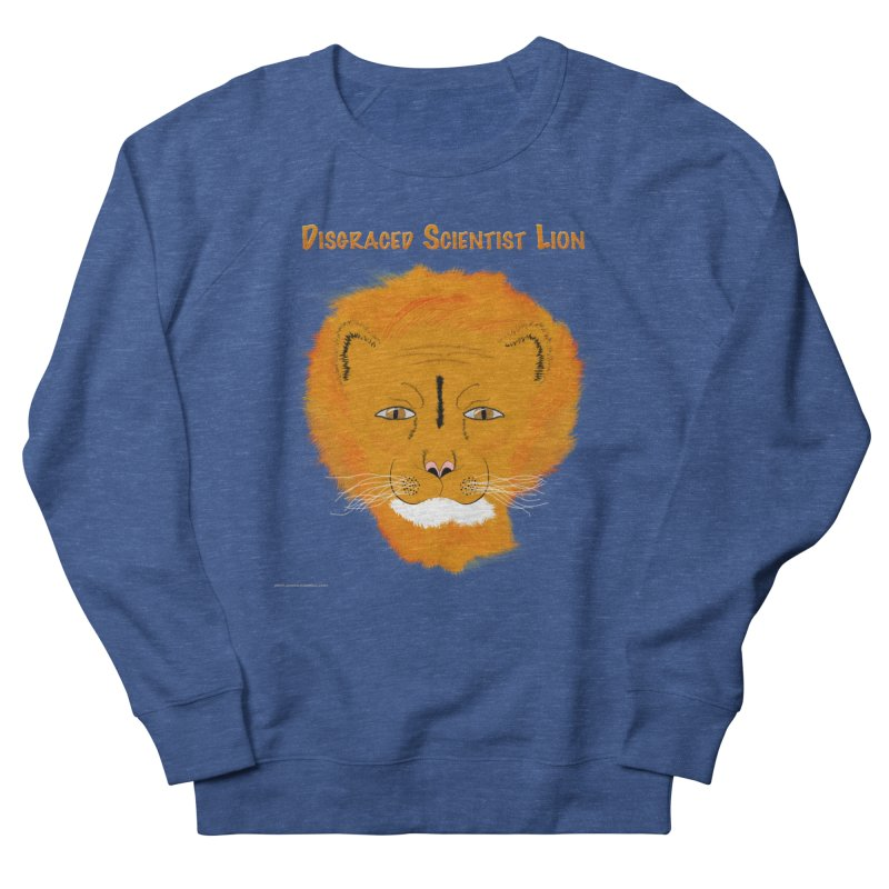 Disgraced Scientist Lion Men's Sweatshirt by Every Drop's An Idea's Artist Shop