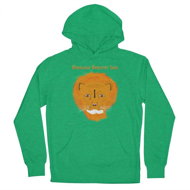 Disgraced Scientist Lion Women's Pullover Hoody by Every Drop's An Idea's Artist Shop