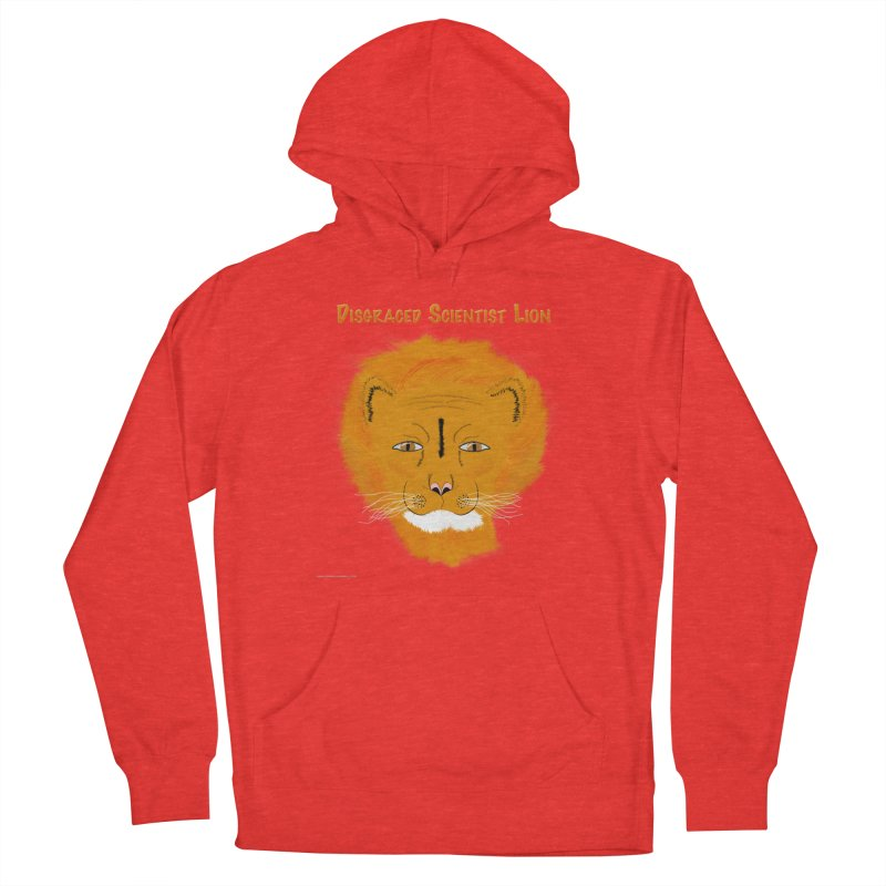 Disgraced Scientist Lion All Genders Pullover Hoody by Every Drop's An Idea's Artist Shop