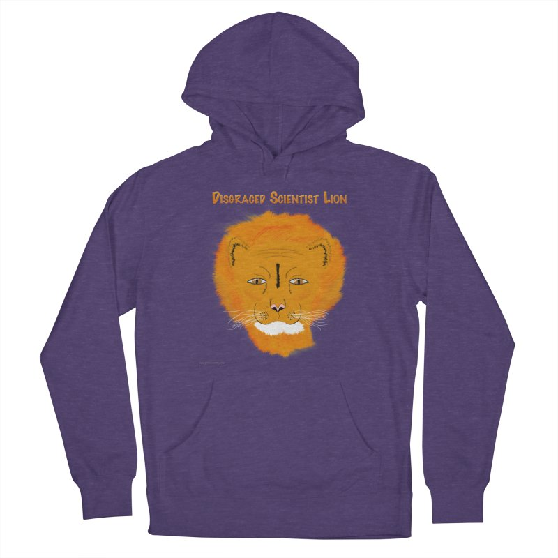 Disgraced Scientist Lion Women's Pullover Hoody by Every Drop's An Idea's Artist Shop