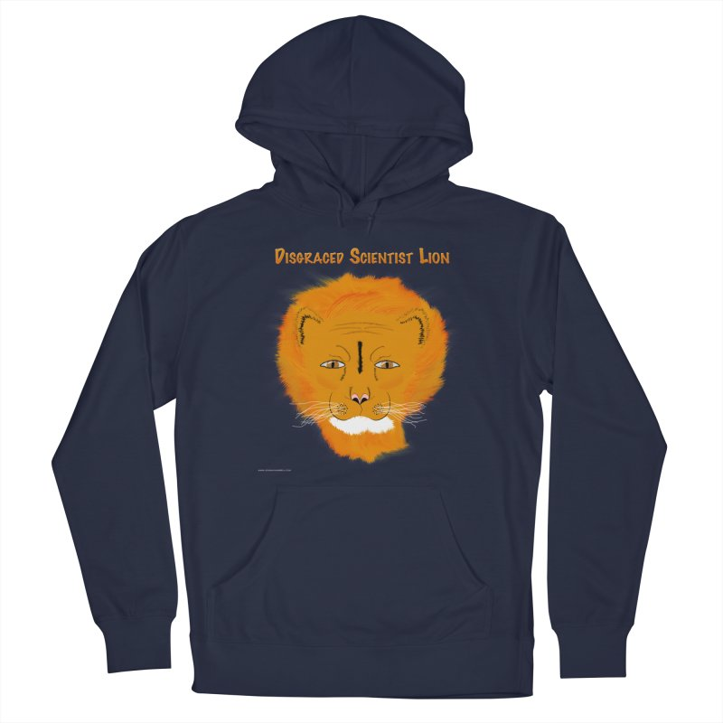 Disgraced Scientist Lion Men's Pullover Hoody by Every Drop's An Idea's Artist Shop