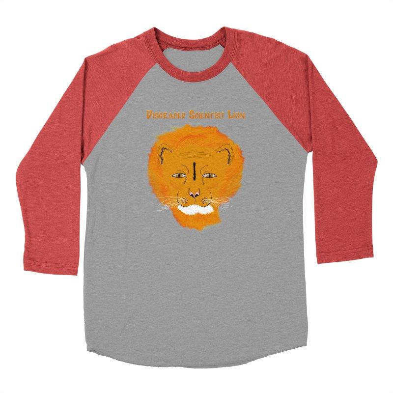 Disgraced Scientist Lion All Genders Longsleeve T-Shirt by Every Drop's An Idea's Artist Shop