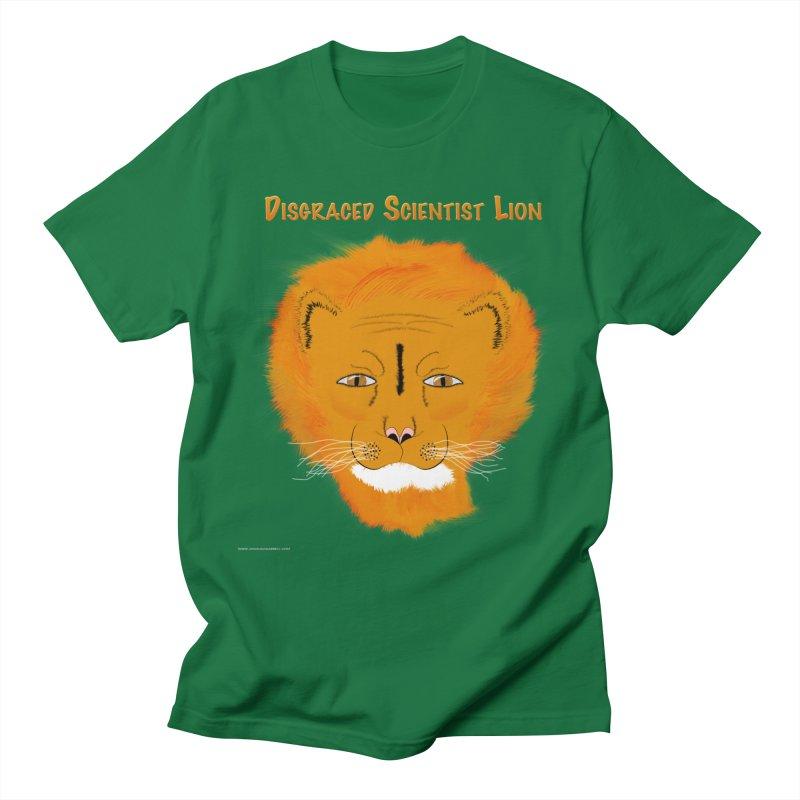 Disgraced Scientist Lion Men's T-Shirt by Every Drop's An Idea's Artist Shop