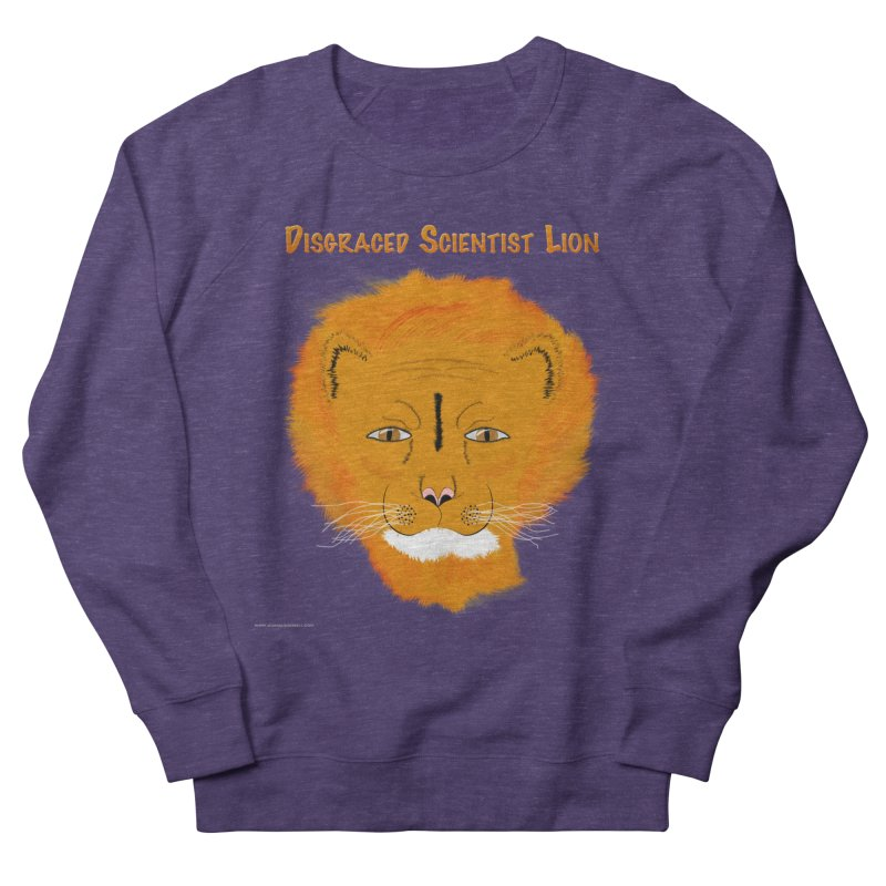 Disgraced Scientist Lion Men's French Terry Sweatshirt by Every Drop's An Idea's Artist Shop