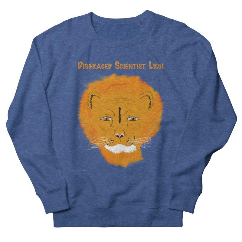 Disgraced Scientist Lion Men's French Terry Sweatshirt by Every Drop's An Idea's Artist Shop