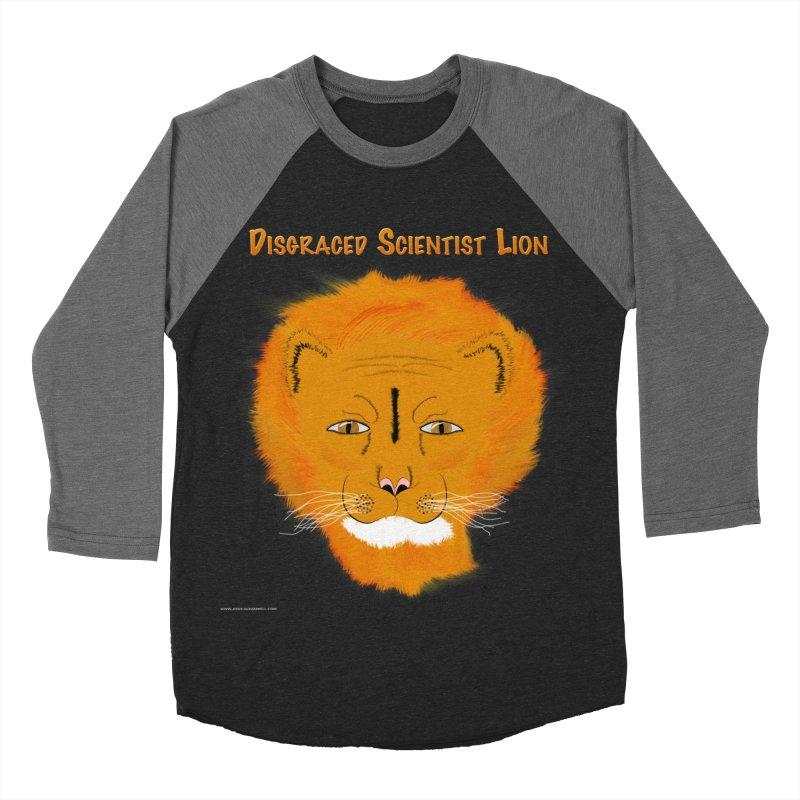 Disgraced Scientist Lion Women's Baseball Triblend Longsleeve T-Shirt by Every Drop's An Idea's Artist Shop
