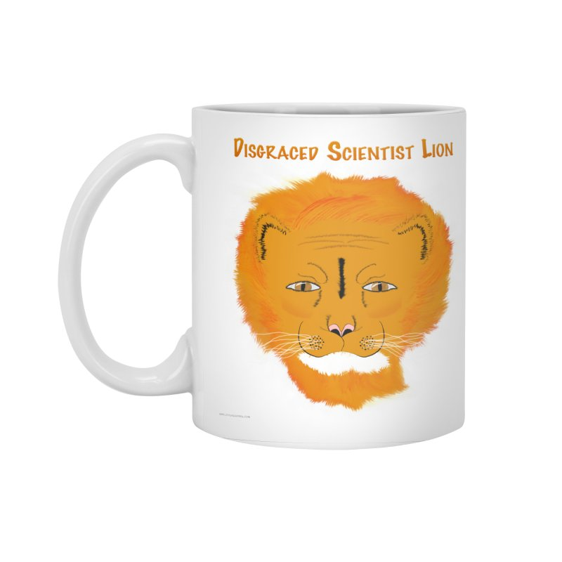 Disgraced Scientist Lion Accessories Standard Mug by Every Drop's An Idea's Artist Shop