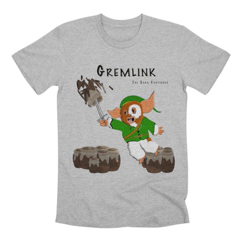 Gremlink: The Saga Continues Men's Premium T-Shirt by Every Drop's An Idea's Artist Shop