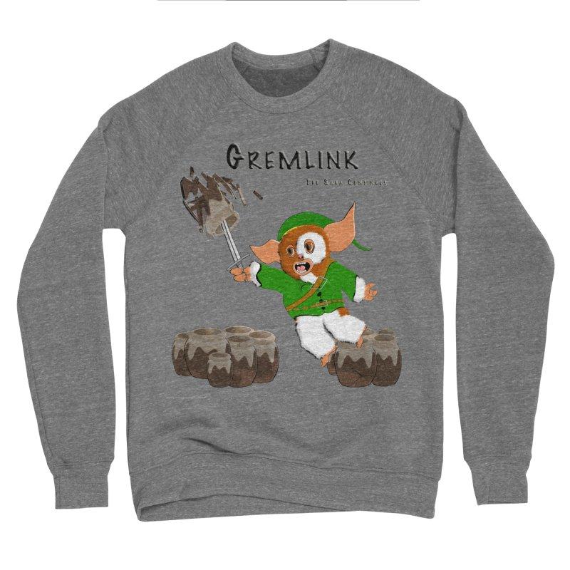 Gremlink: The Saga Continues Men's Sponge Fleece Sweatshirt by Every Drop's An Idea's Artist Shop