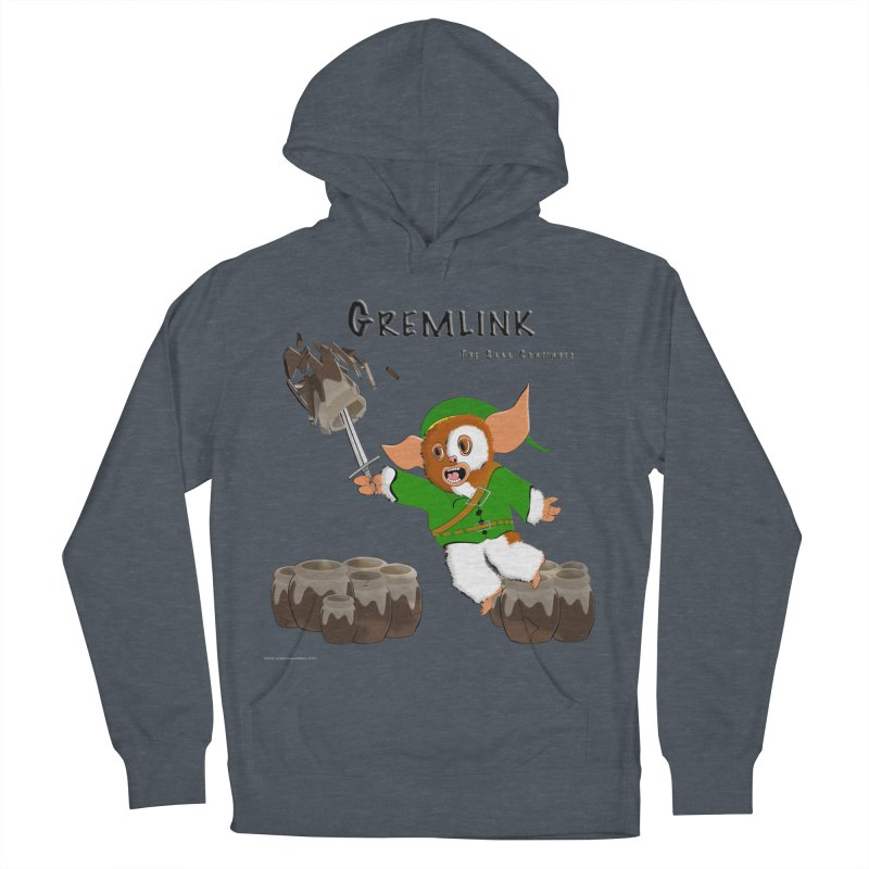 Gremlink: The Saga Continues Men's French Terry Pullover Hoody by Every Drop's An Idea's Artist Shop