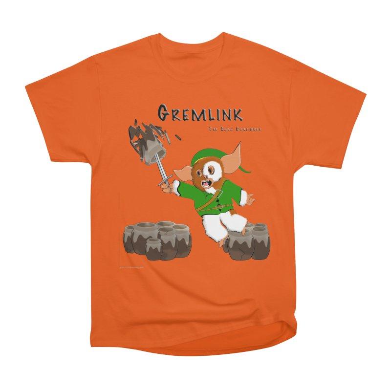 Gremlink: The Saga Continues Women's Heavyweight Unisex T-Shirt by Every Drop's An Idea's Artist Shop
