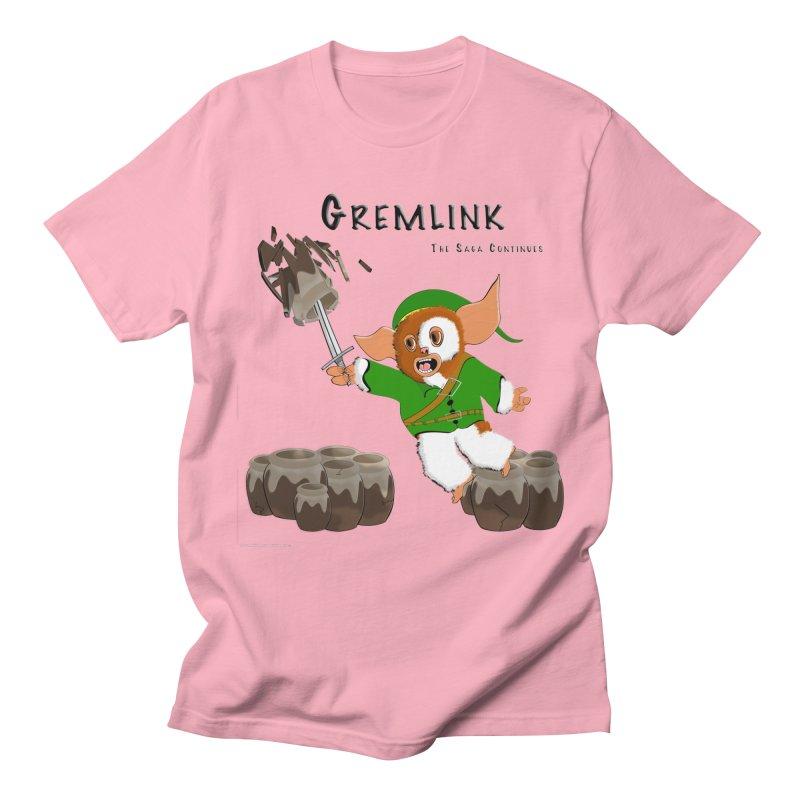 Gremlink: The Saga Continues Men's Regular T-Shirt by Every Drop's An Idea's Artist Shop