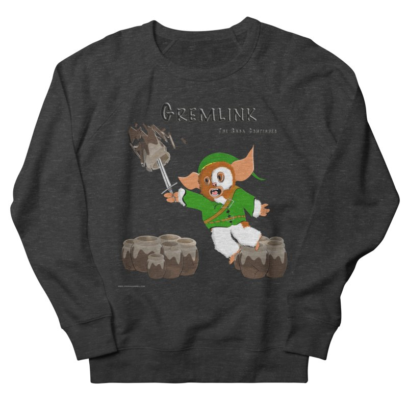 Gremlink: The Saga Continues Women's French Terry Sweatshirt by Every Drop's An Idea's Artist Shop