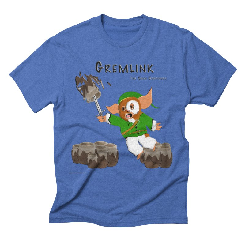 Gremlink: The Saga Continues Men's Triblend T-Shirt by Every Drop's An Idea's Artist Shop