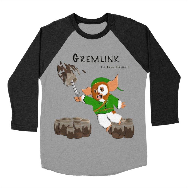 Gremlink: The Saga Continues Women's Baseball Triblend Longsleeve T-Shirt by Every Drop's An Idea's Artist Shop