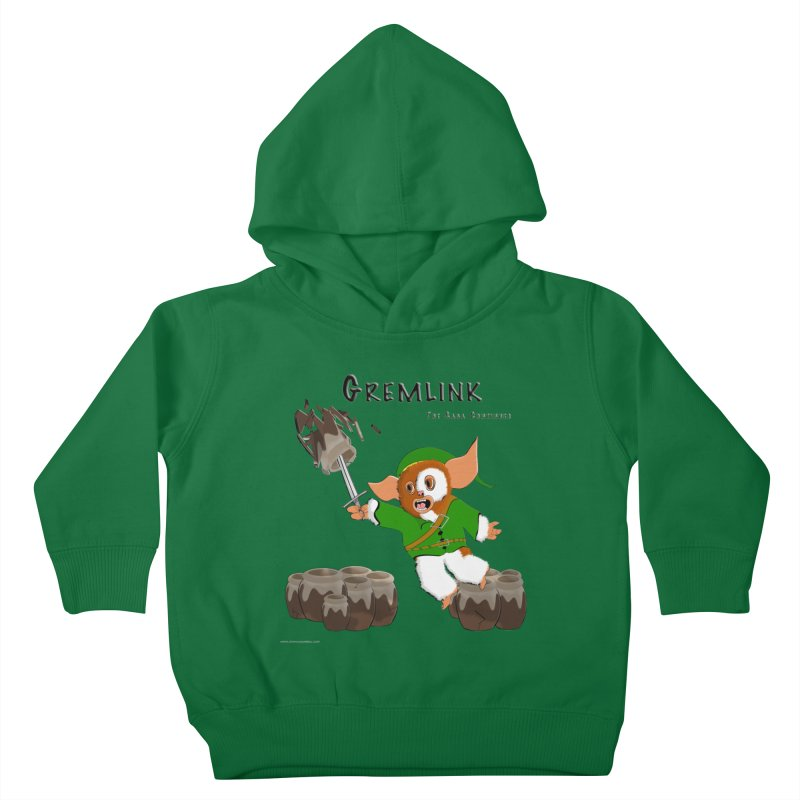Gremlink: The Saga Continues Kids Toddler Pullover Hoody by Every Drop's An Idea's Artist Shop