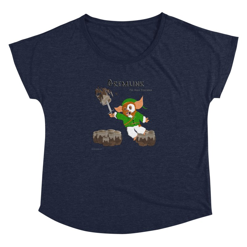 Gremlink: The Saga Continues Women's Dolman Scoop Neck by Every Drop's An Idea's Artist Shop