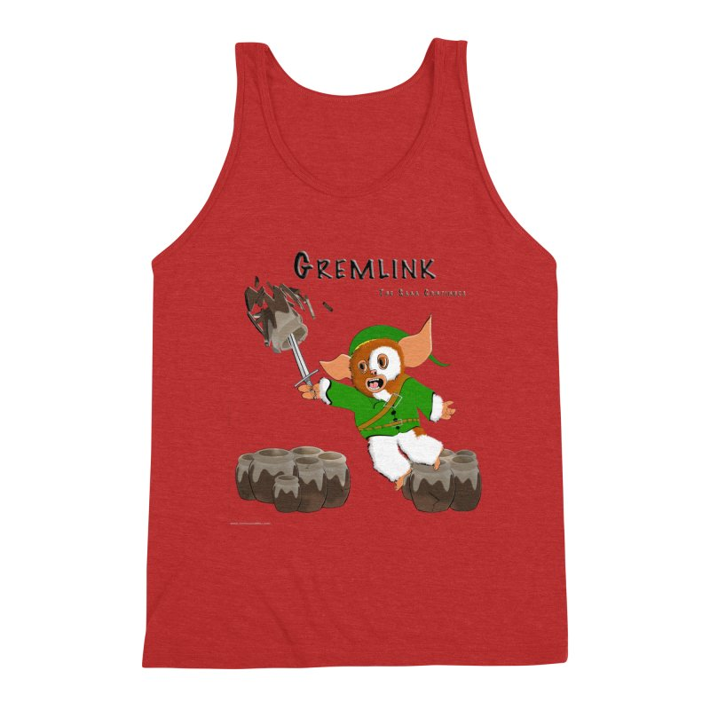 Gremlink: The Saga Continues Men's Triblend Tank by Every Drop's An Idea's Artist Shop