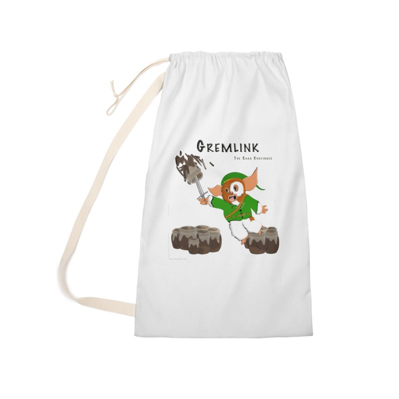 Gremlink: The Saga Continues Accessories Laundry Bag Bag by Every Drop's An Idea's Artist Shop