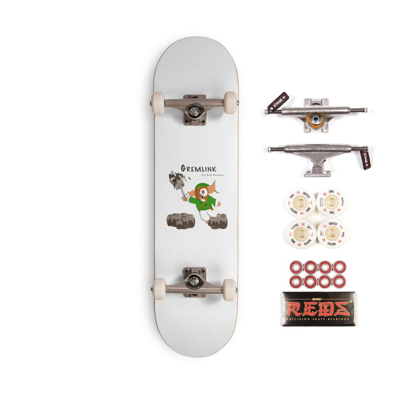 Gremlink: The Saga Continues Accessories Complete - Pro Skateboard by Every Drop's An Idea's Artist Shop