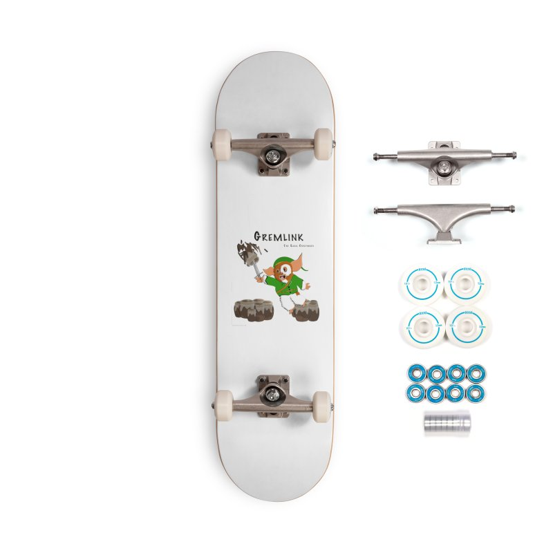 Gremlink: The Saga Continues Accessories Complete - Basic Skateboard by Every Drop's An Idea's Artist Shop
