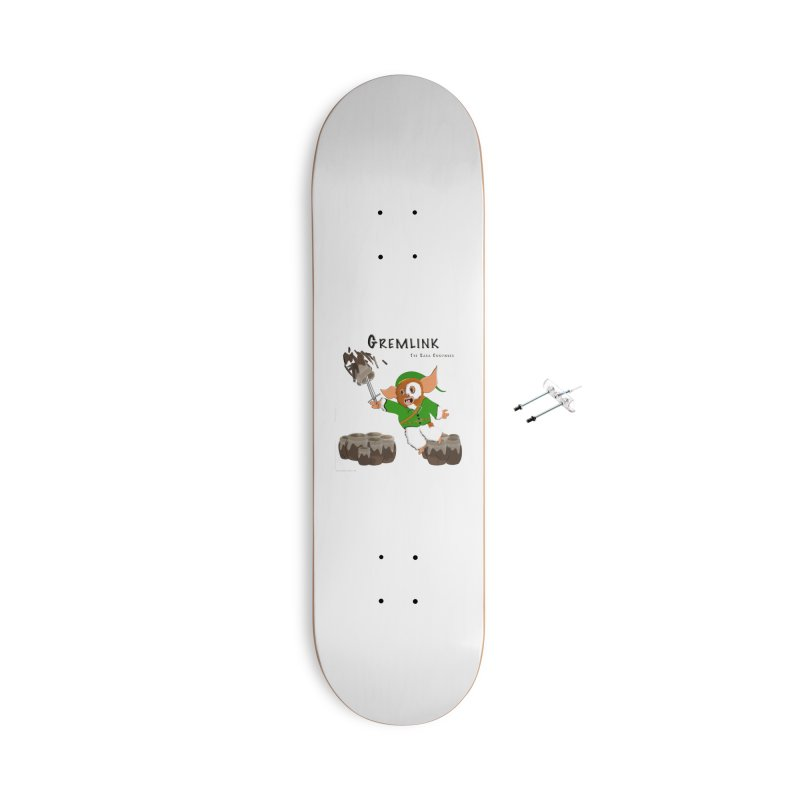Gremlink: The Saga Continues Accessories With Hanging Hardware Skateboard by Every Drop's An Idea's Artist Shop