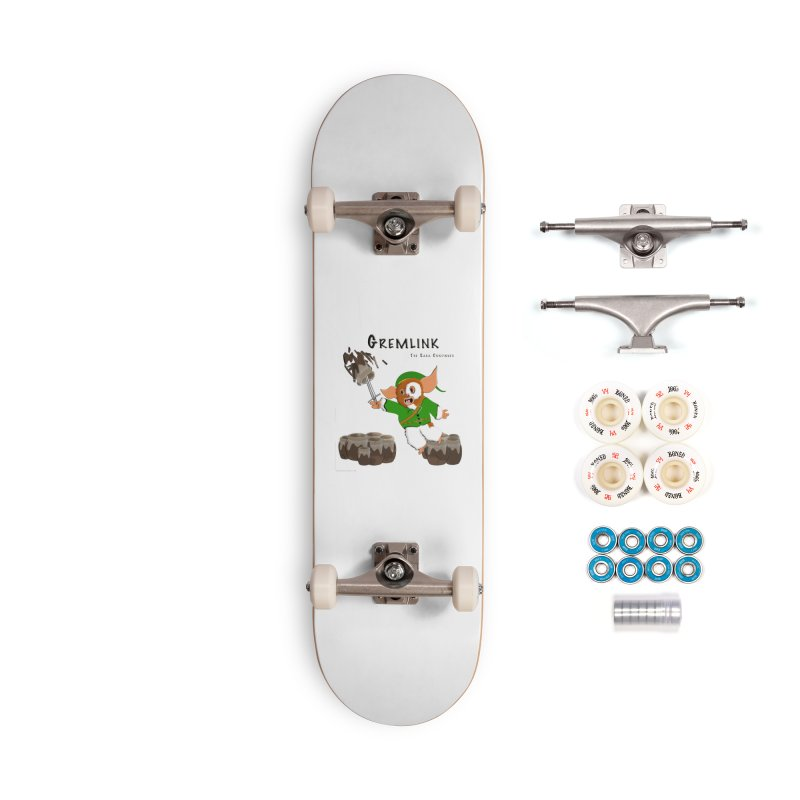 Gremlink: The Saga Continues Accessories Complete - Premium Skateboard by Every Drop's An Idea's Artist Shop