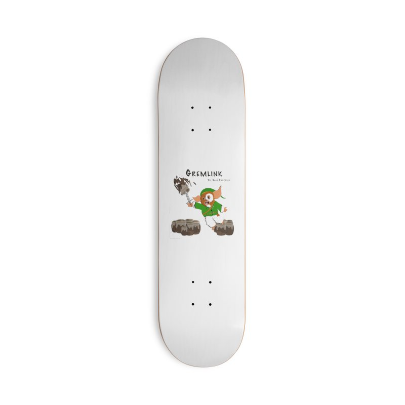 Gremlink: The Saga Continues Accessories Deck Only Skateboard by Every Drop's An Idea's Artist Shop