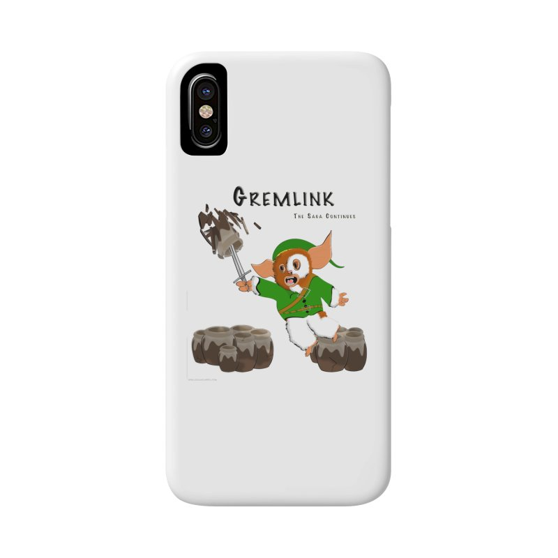 Gremlink: The Saga Continues Accessories Phone Case by Every Drop's An Idea's Artist Shop