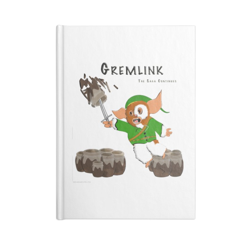 Gremlink: The Saga Continues Accessories Blank Journal Notebook by Every Drop's An Idea's Artist Shop