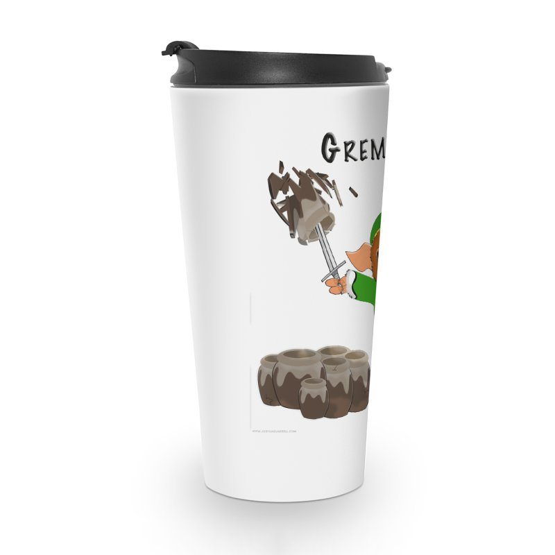 Gremlink: The Saga Continues Accessories Travel Mug by Every Drop's An Idea's Artist Shop