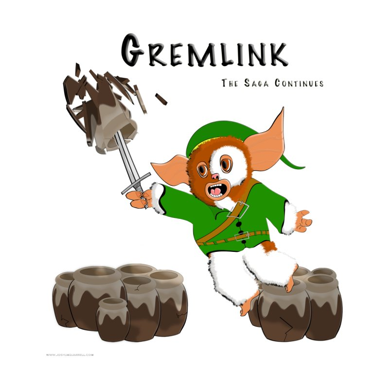Gremlink: The Saga Continues Men's Longsleeve T-Shirt by Every Drop's An Idea's Artist Shop