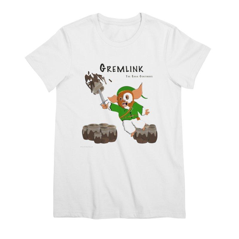 Gremlink: The Saga Continues Women's T-Shirt by Every Drop's An Idea's Artist Shop