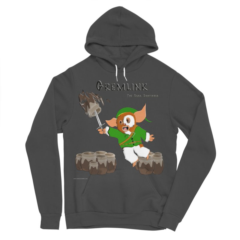 Gremlink: The Saga Continues Men's Sponge Fleece Pullover Hoody by Every Drop's An Idea's Artist Shop