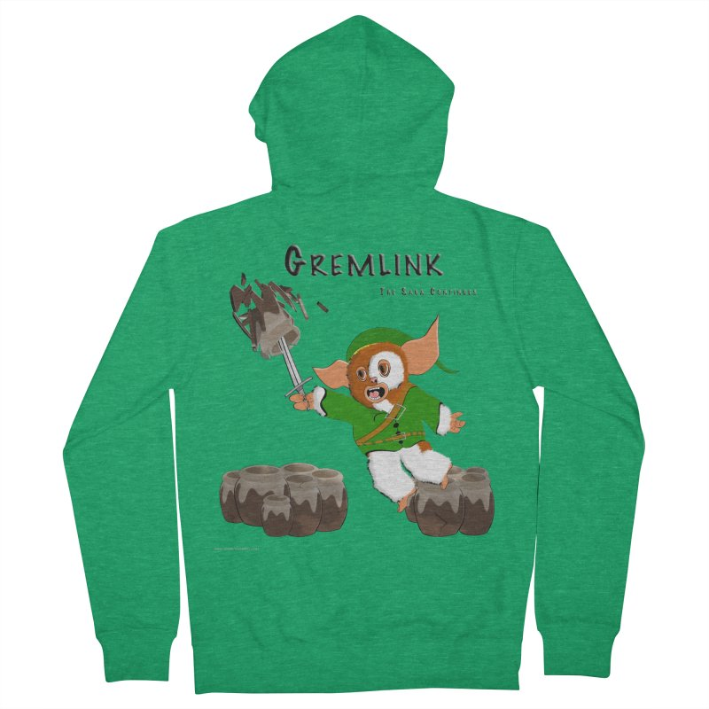 Gremlink: The Saga Continues Men's Zip-Up Hoody by Every Drop's An Idea's Artist Shop