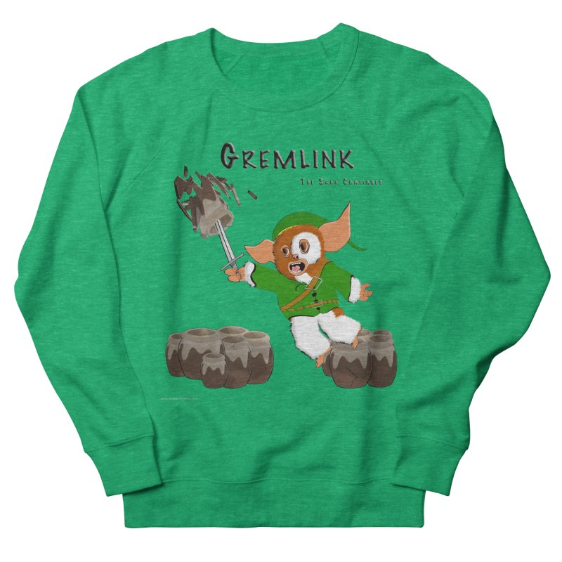 Gremlink: The Saga Continues Women's Sweatshirt by Every Drop's An Idea's Artist Shop
