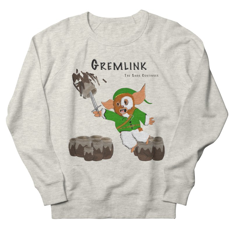 Gremlink: The Saga Continues Men's French Terry Sweatshirt by Every Drop's An Idea's Artist Shop