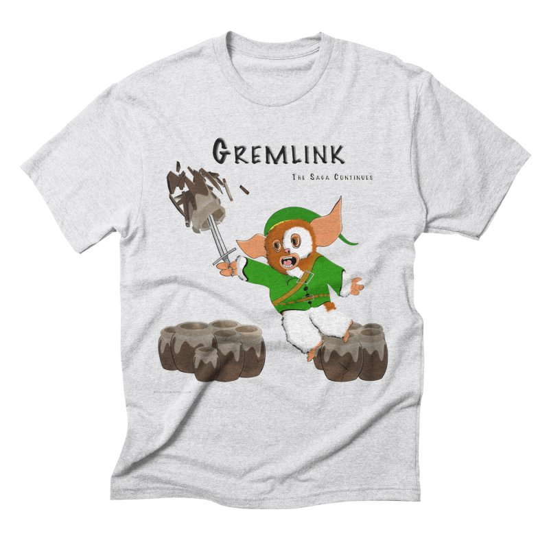 Gremlink: The Saga Continues Men's Triblend T-Shirt by Every Drop's An Idea's Artist Shop