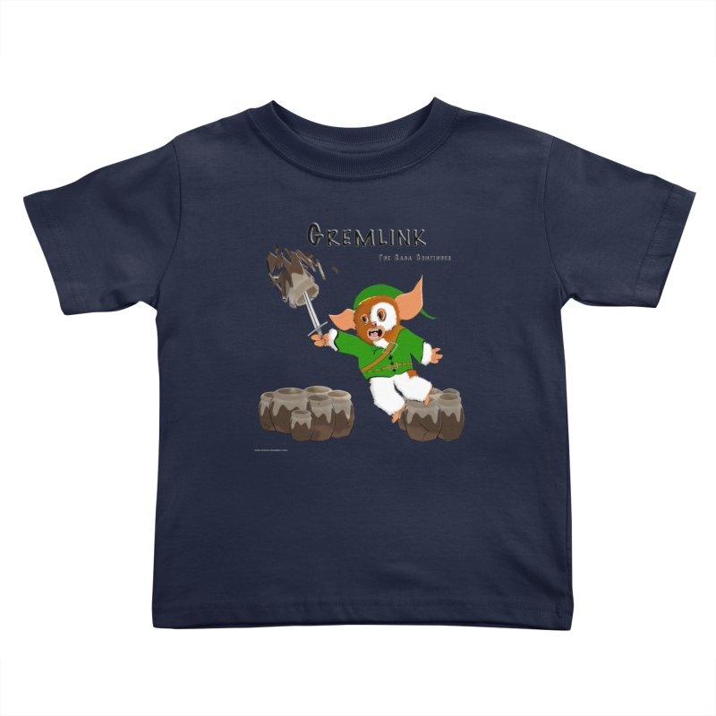 Gremlink: The Saga Continues Kids Toddler T-Shirt by Every Drop's An Idea's Artist Shop