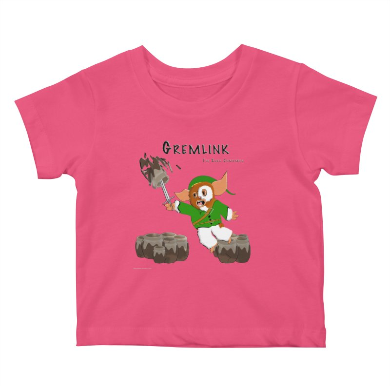 Gremlink: The Saga Continues Kids Baby T-Shirt by Every Drop's An Idea's Artist Shop