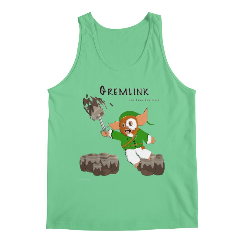 Gremlink: The Saga Continues Men's Tank by Every Drop's An Idea's Artist Shop