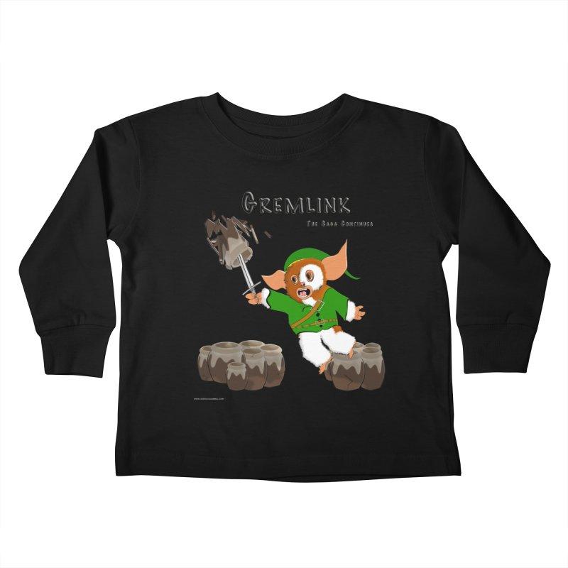 Gremlink: The Saga Continues Kids Toddler Longsleeve T-Shirt by Every Drop's An Idea's Artist Shop