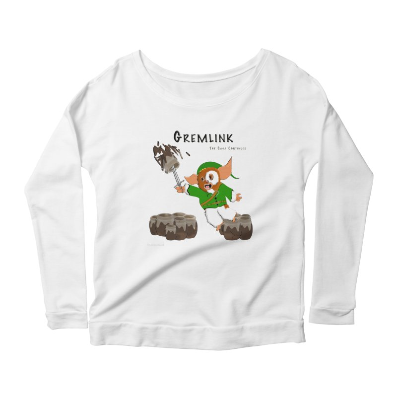 Gremlink: The Saga Continues Women's Longsleeve T-Shirt by Every Drop's An Idea's Artist Shop