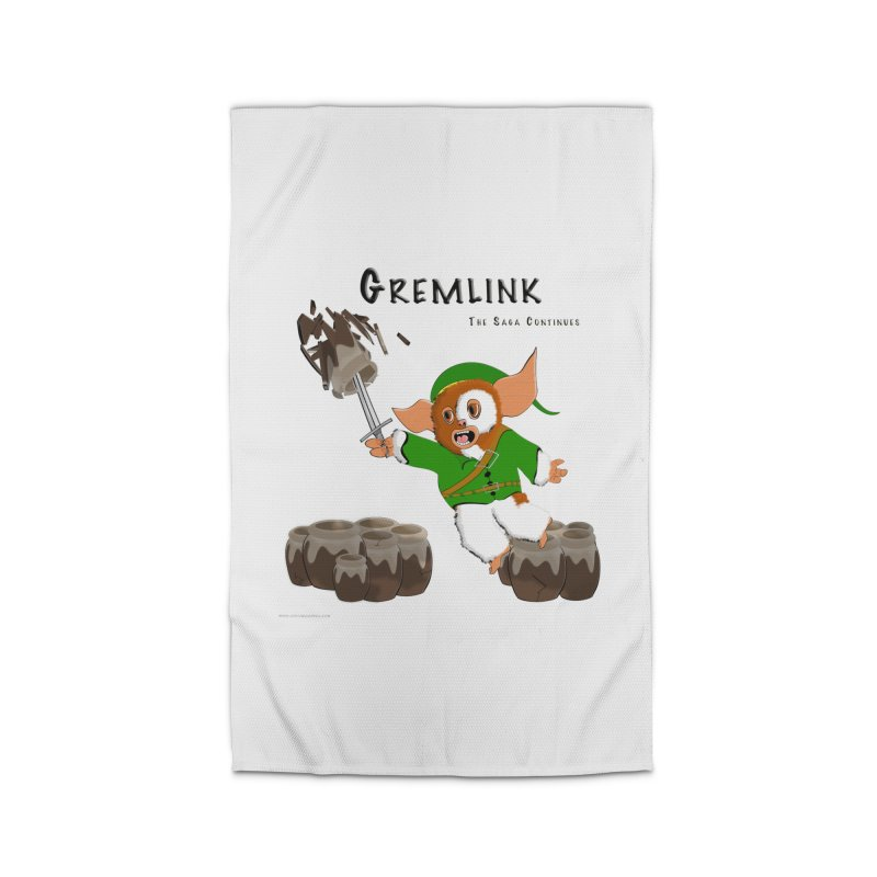 Gremlink: The Saga Continues Home Rug by Every Drop's An Idea's Artist Shop