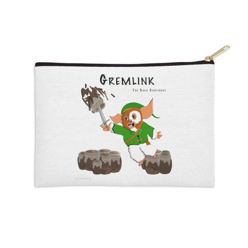 Gremlink: The Saga Continues Accessories Zip Pouch by Every Drop's An Idea's Artist Shop