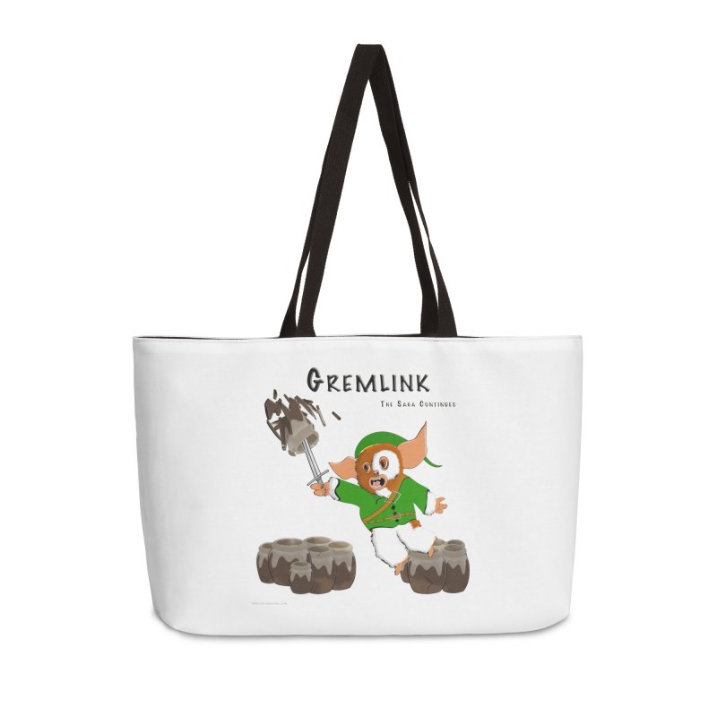 Gremlink: The Saga Continues Accessories Weekender Bag Bag by Every Drop's An Idea's Artist Shop