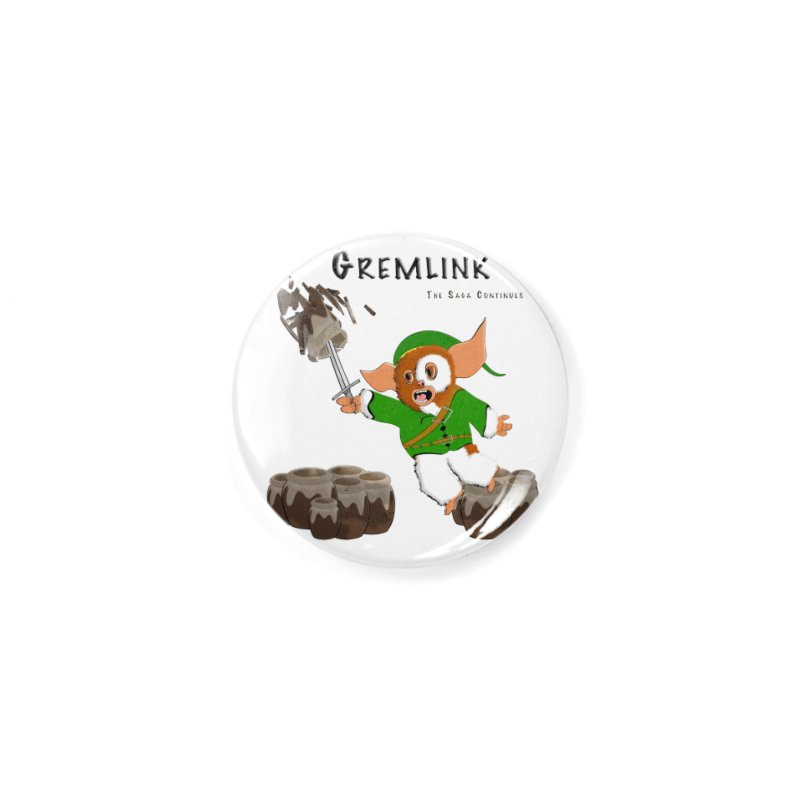Gremlink: The Saga Continues Accessories Button by Every Drop's An Idea's Artist Shop